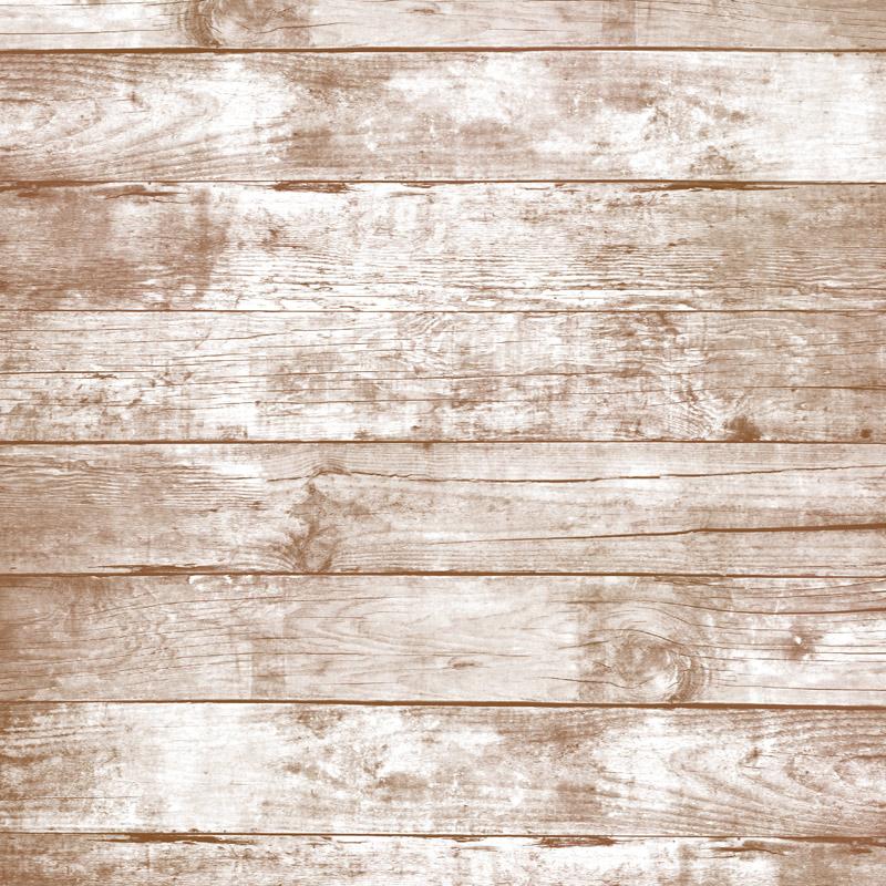 White Distressed Wood Flooring Kitchen