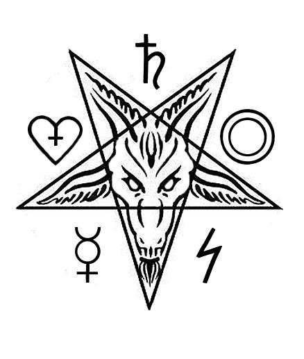 baphomet pentagram wallpaper