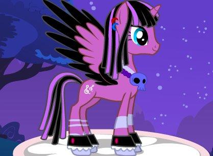 BlackRose Pony by Kiira-Kat