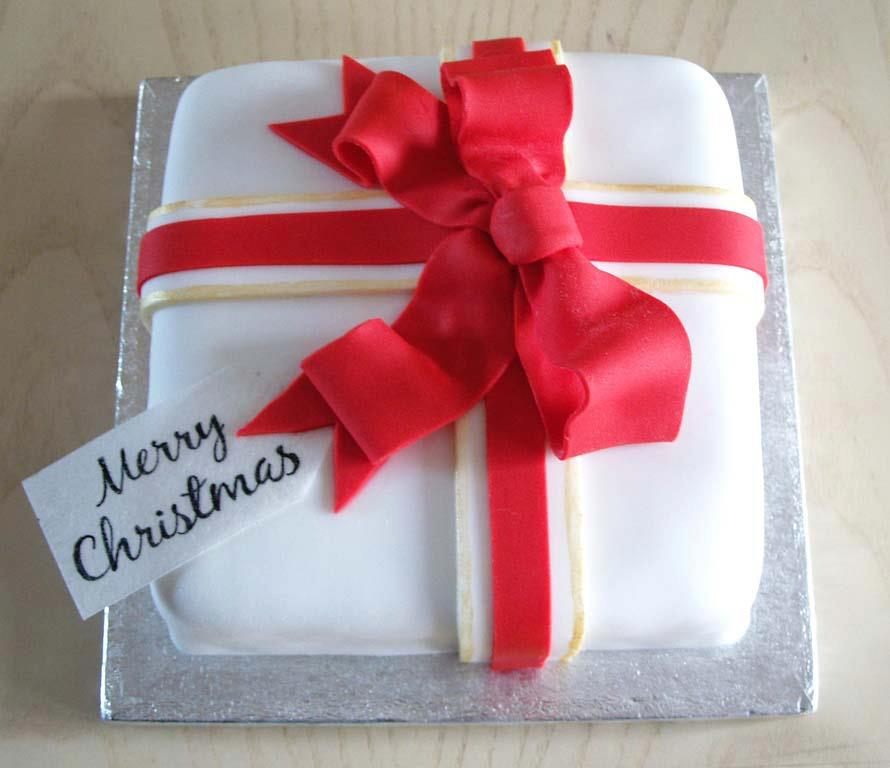 Christmas cake- present by KarenJerram