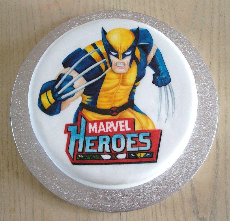 Wolverine Edible Cake Topper