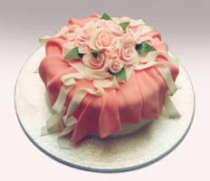 Anniversary cake by KarenJerram