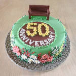 50th Anniversary cake-gluten free