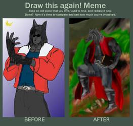 Draw this again meme 2009-2013