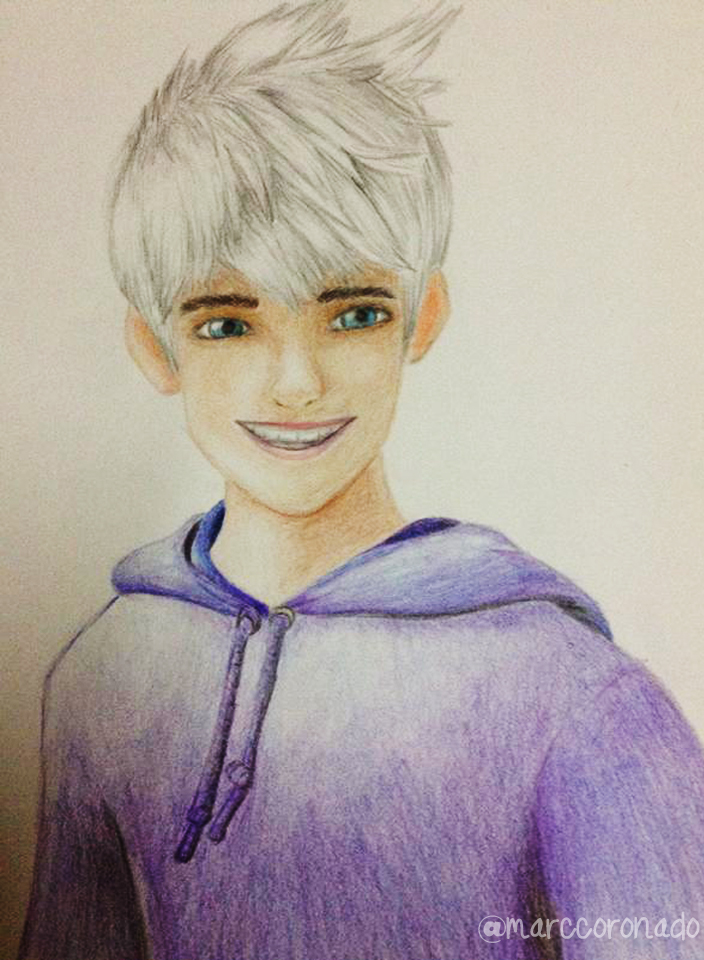 Color Pencil Drawings Jack Frost By Marccoronado On Deviantart