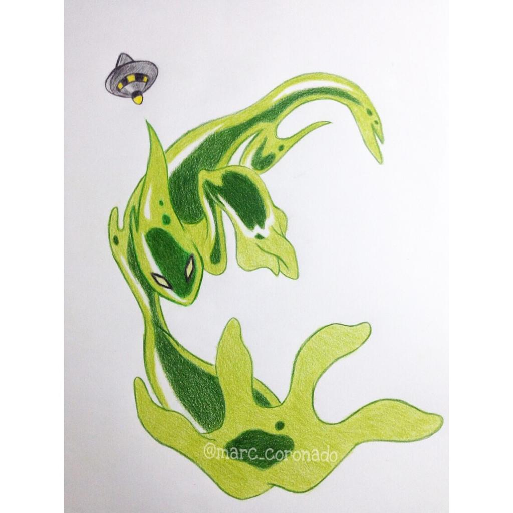 Colorpencil Drawings GOOP From Ben10 AlienForce By Marccoronado On DeviantArt