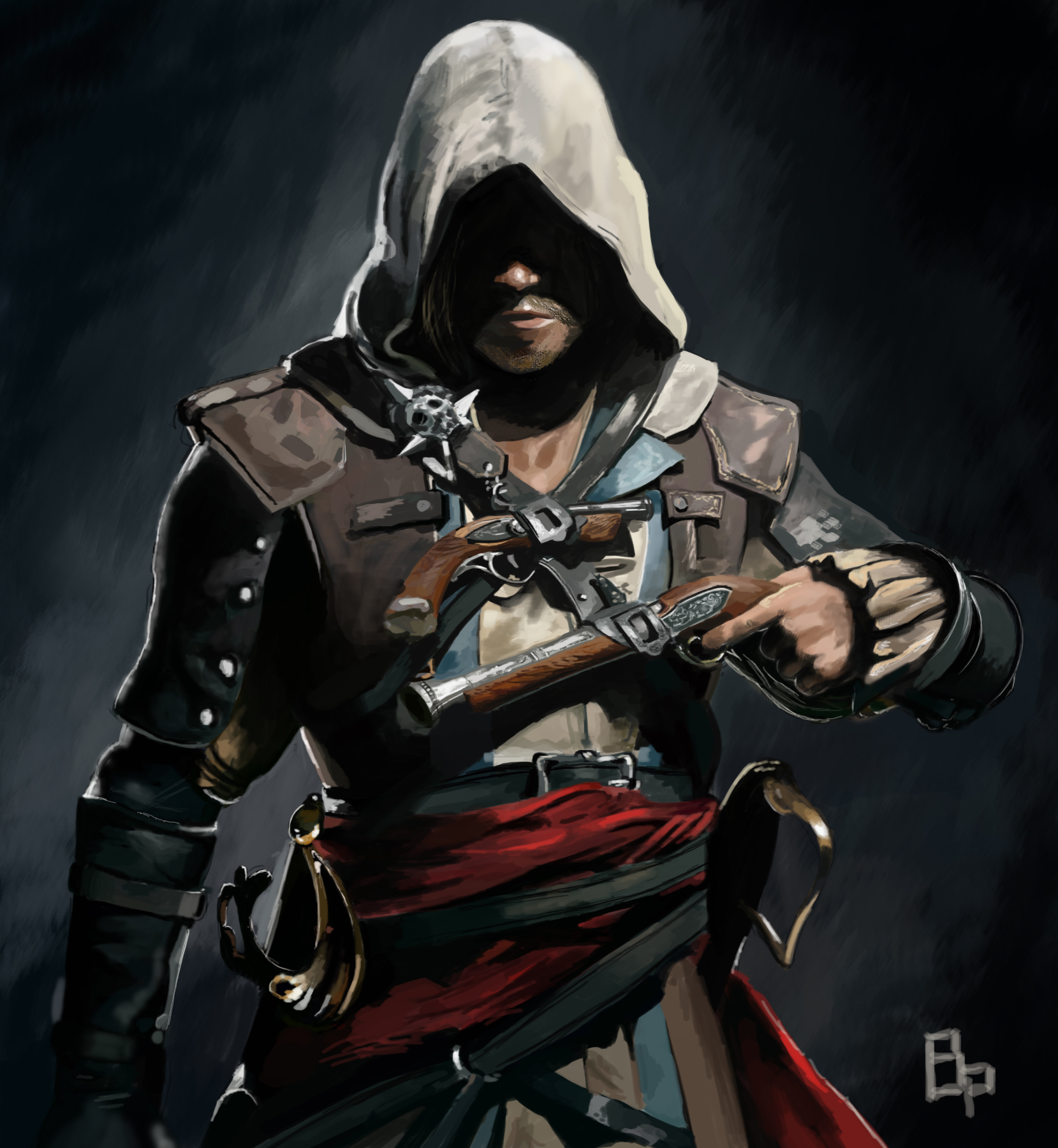 Edward Kenway Assassin S Creed Iv Black Flag By Bustepaul On