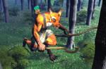 Kankoran on the hunt