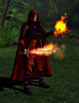 Fire Warlock by MADMANMIKE