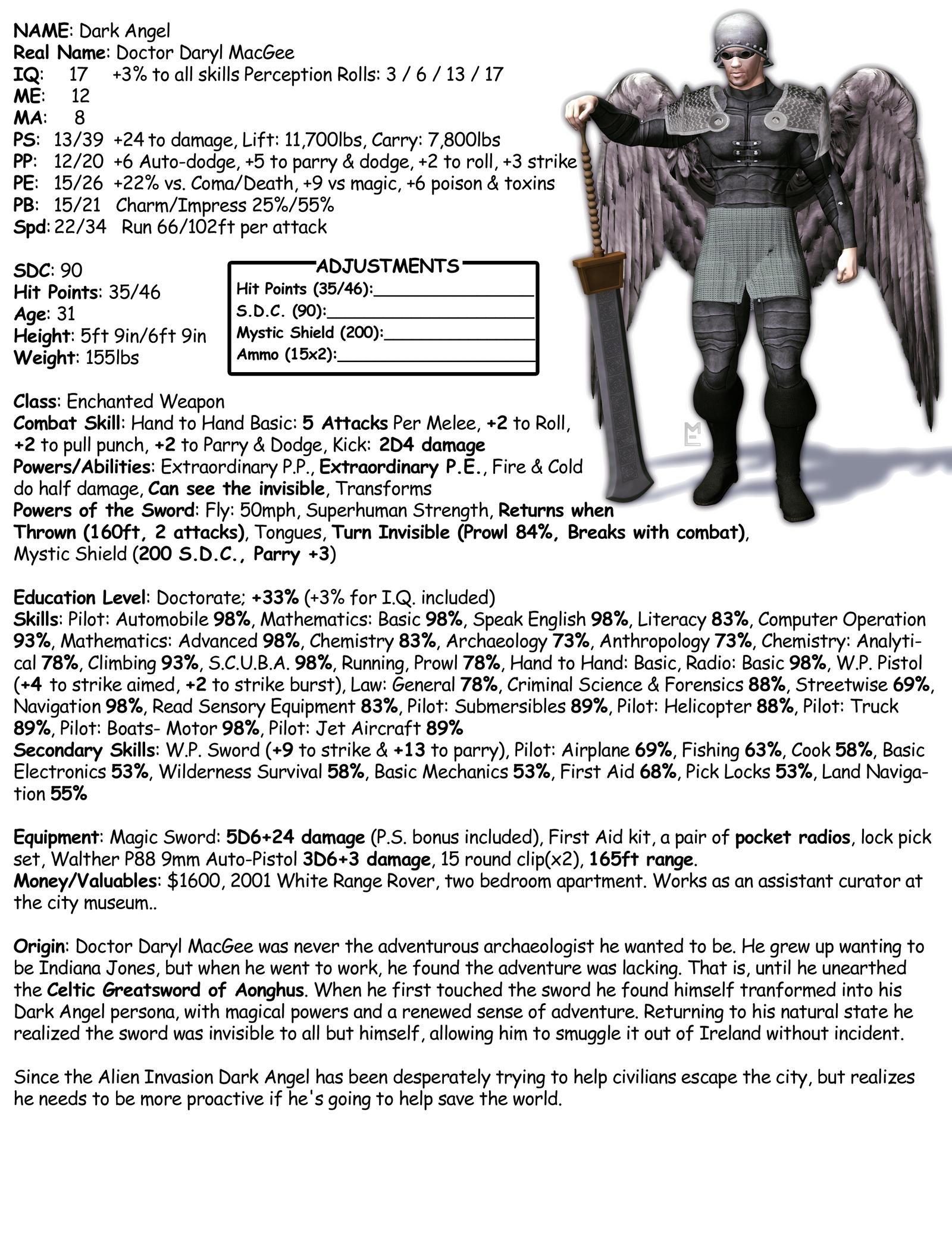 rifts rpg character sheet pdf