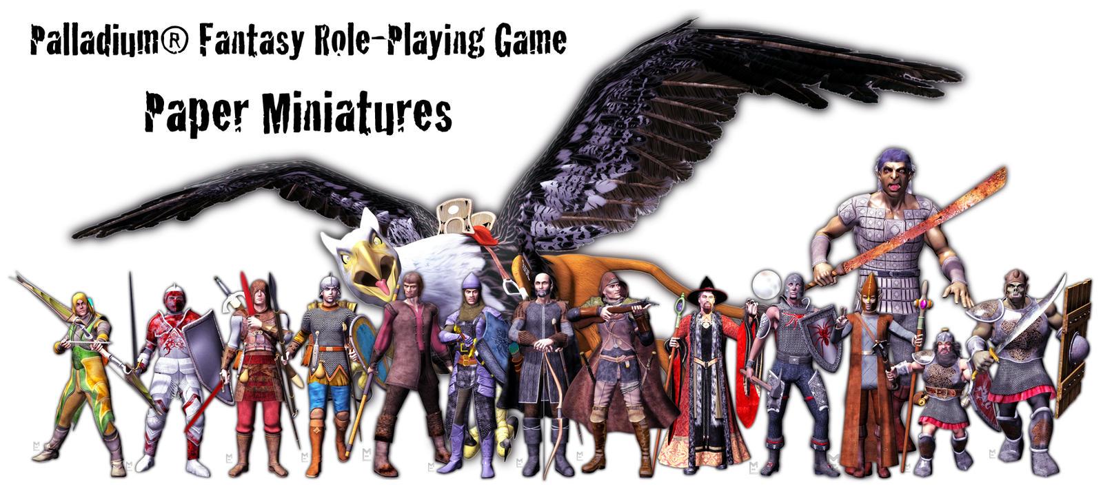 Palladium Fantasy RPG Miniatures Teaser by MADMANMIKE
