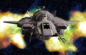 DurYing Shuttle 01 by MADMANMIKE