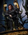 RIFTS Throned Troll Warlock