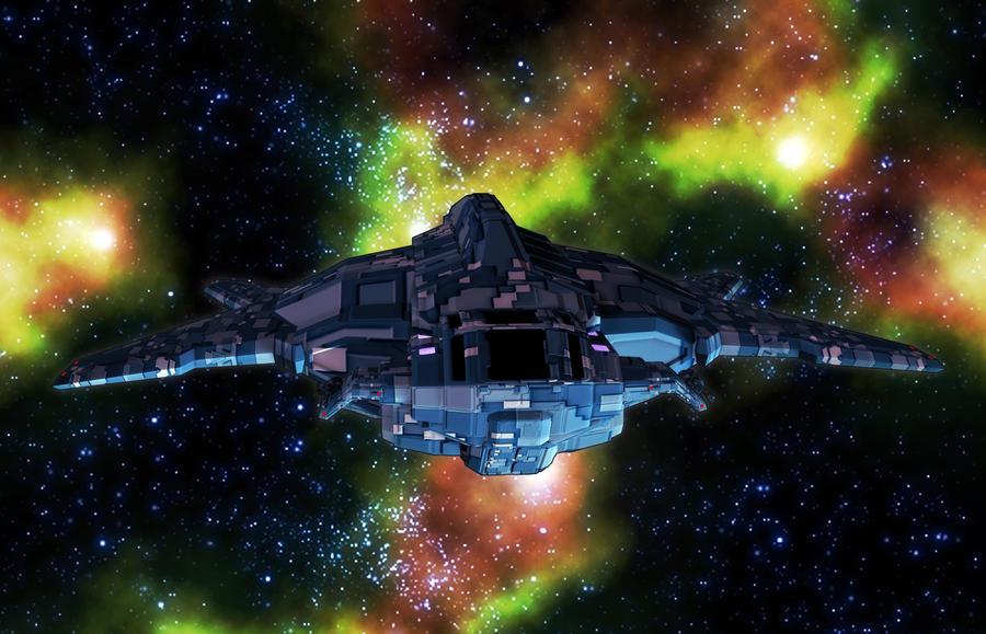 Hammerhead Shuttle 01 by MADMANMIKE