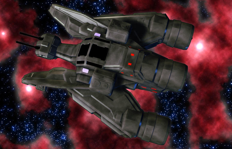 Gadfly Heavy Assault Fighter 04