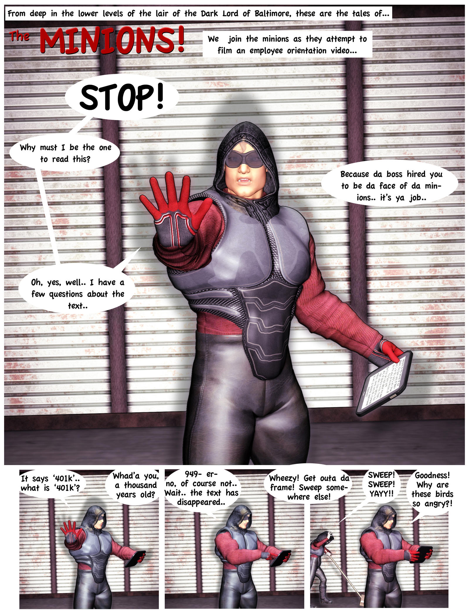 The Minions page 01