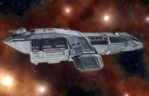 Magellan Shuttle 02 by MADMANMIKE