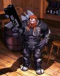 RIFTS Dwarf Rogue Scientist