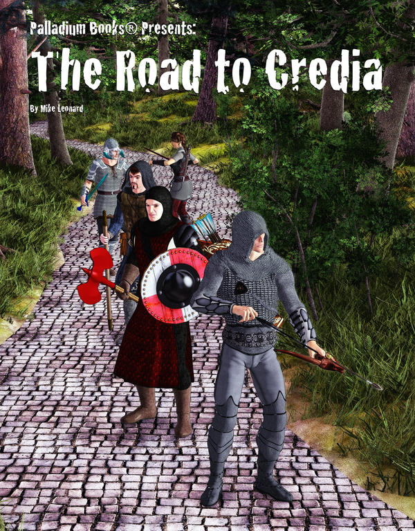 The Road to Credia by MADMANMIKE