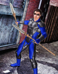 20 minute random superhero by MADMANMIKE