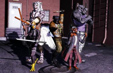 Mutants by MADMANMIKE
