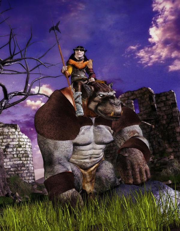 The Gugmug Riders of the Rorakk Plains by MADMANMIKE