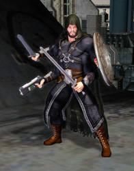 RIFTS Temporal Warrior Bio-Borg by MADMANMIKE