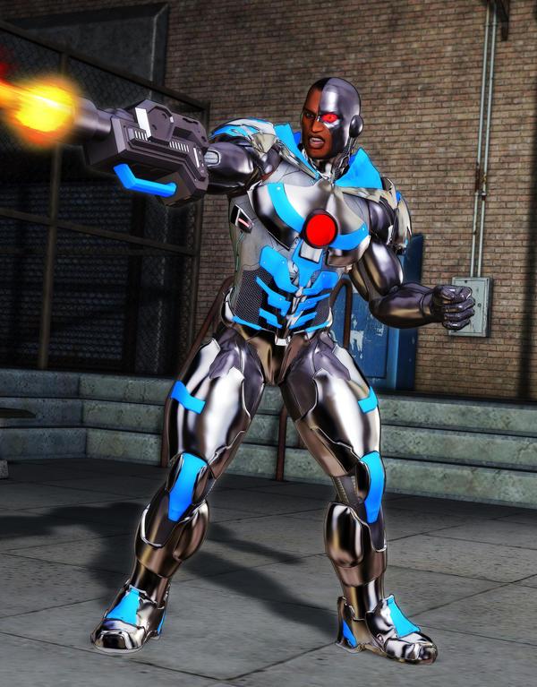 DCs Cyborg by MADMANMIKE