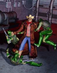Frankie - Redneck Frankenstein Hero by MADMANMIKE