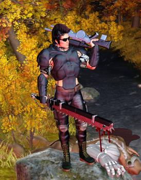 Rifts Juicer kills a Brodkil Demon
