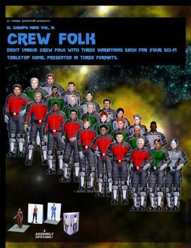 El Cheapo Minis Vol. 5 Crew Folk