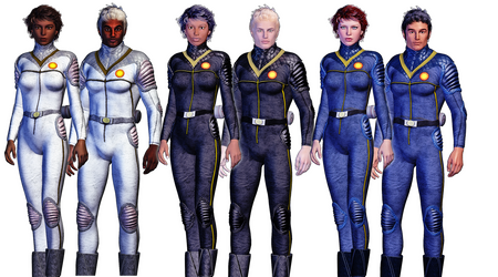 Imperial Navy Utility Uniforms