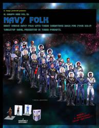 El Cheapo Minis Vol. 12 Navy Folk