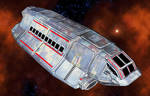 200-ton Danifred Class Light Freighter by MADMANMIKE