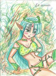 A Elf Princess by Yuri4US