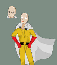 One Punch Man by Yuri4US