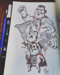 #inktober day 23 - Cartumans monster