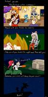 Touhou - School guide comic