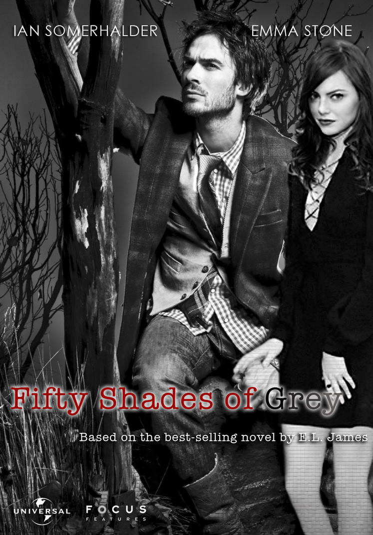 Fifty shades of grey fan poster by laurenbraier on deviantart for Fifty shades of grey 2