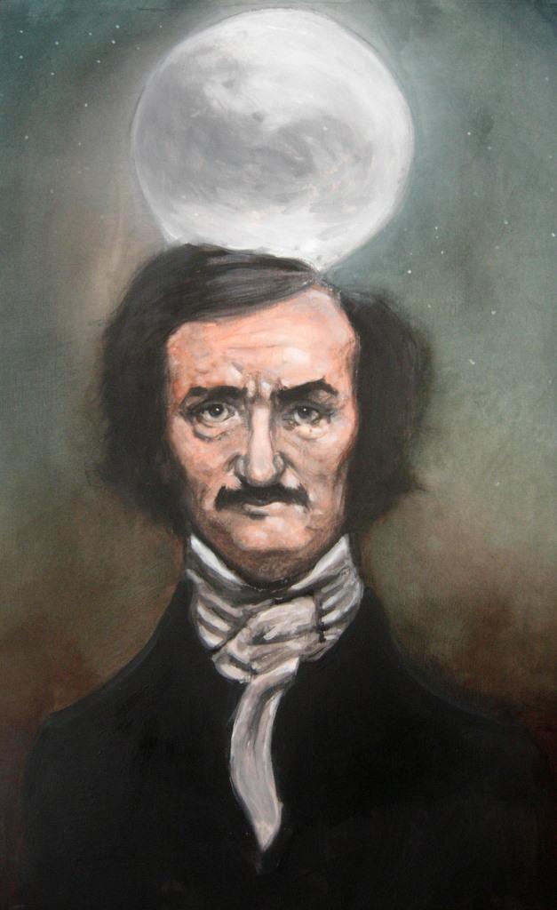Edgar Allan Poe by zednaked