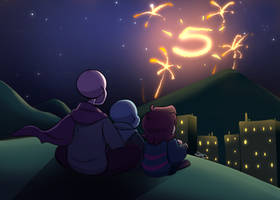 Happy 5th anniversary Undertale!