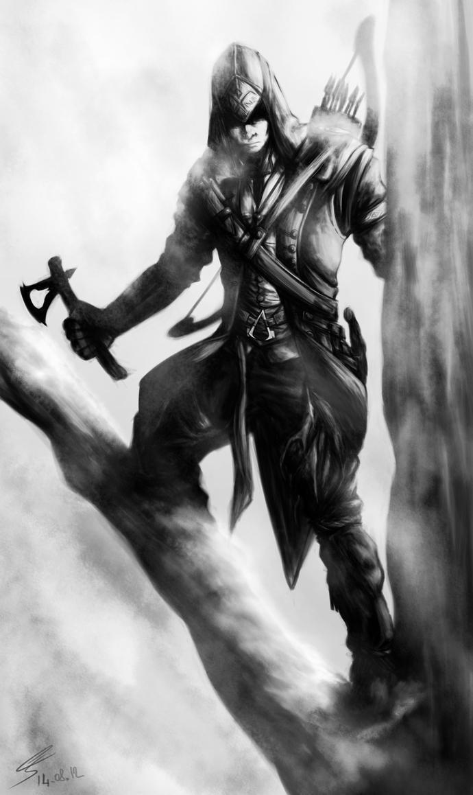 Assassin's Creed III - Connor Kenway by Rukiisuta