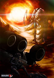 Mass Effect - Akuze by Rukiisuta