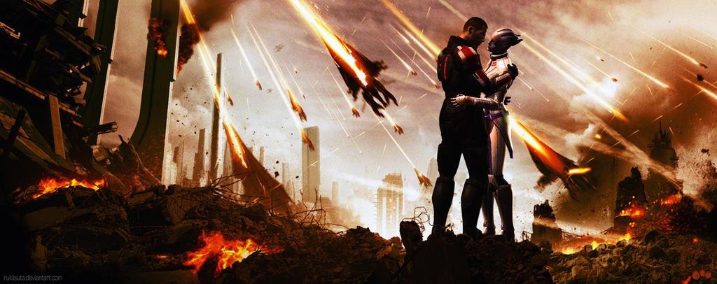 Mass effect - Fallout by Rukiisuta