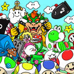 Super Mario 64 Fanart!