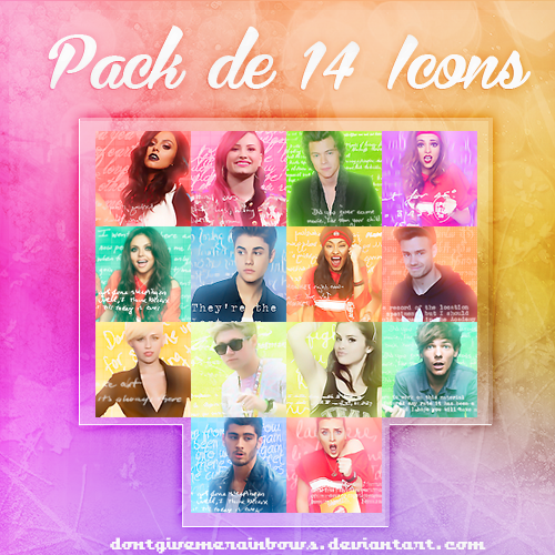 +PackDe14IconsParaDA by DontGiveMeRainbows