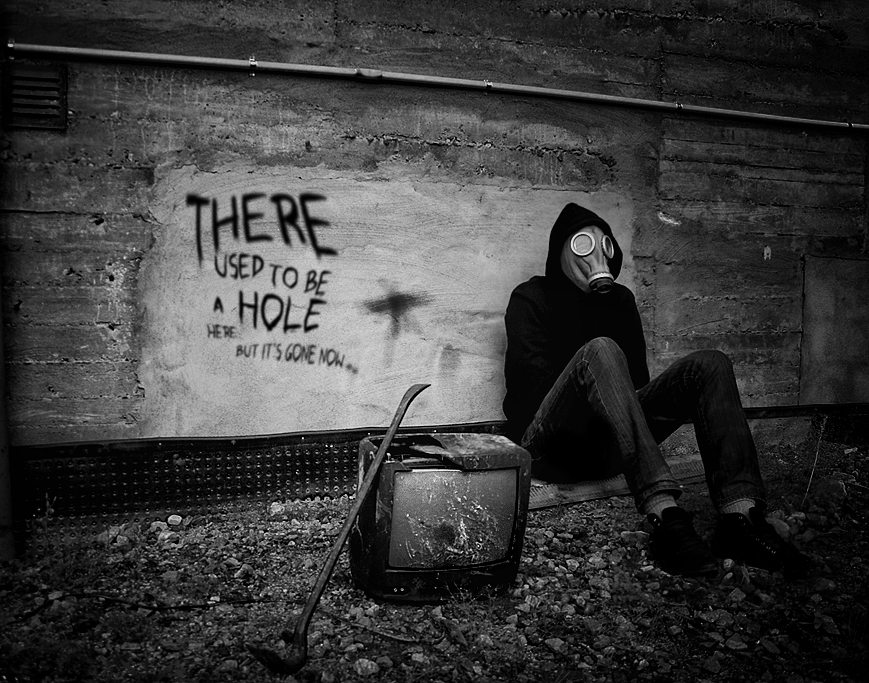 There used to be a hole here.. by Camera-head on DeviantArt