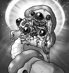 Abyssal Worm of the PIZZA PASTA
