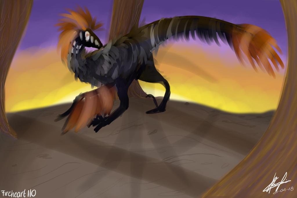 Raptor by fireheart110