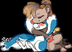 Cuddle by Simobeano